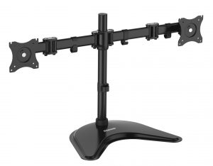 DMTA220_ArticulatingArmsMount-300x234 Dual Monitor Mounts